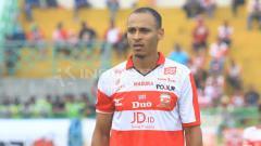 Indosport - Marquee player Madura United, Peter Odemwingie.