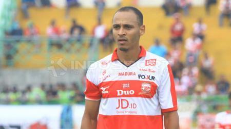 Marquee player Madura United, Peter Odemwingie. - INDOSPORT