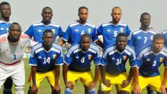 Indosport - Skuat Timnas Chad beberapa waktu lalu.