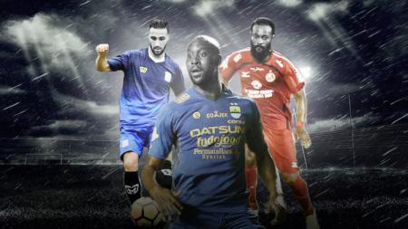 Kiri-kanan: Anmar Almubaraki, Carlton Cole, Didier Zokora. - INDOSPORT