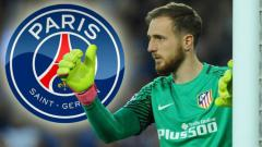 Indosport - Kiper Atletico Madrid, Jan Oblak diincar oleh Paris Saint-Germain.