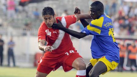 Chad saat bertemu Mesir di kualifikasi Piala Afrika 2017. - INDOSPORT