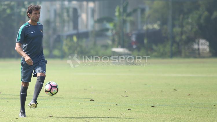 Timnas U-22 Jelang SEA Games 2017 Copyright: Herry Ibrahim/Indosport.com