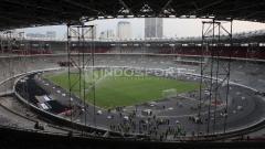 Indosport - Kondisi Terkini Stadion GBK.