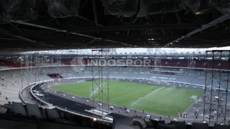 Kondisi Terkini Stadion Gelora Bung Karno. - INDOSPORT