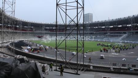 Stadion GBK merupakan venue utama Asian Games 2018.