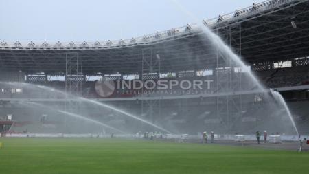 Kondisi terkini Stadion GBK. - INDOSPORT