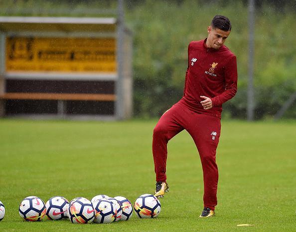 Philippe Coutinho, pemain bintang Liverpool. Copyright: INDOSPORT