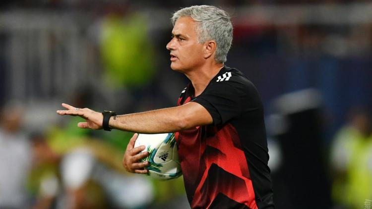 Jose Mourinho. Copyright: Twitter/@ManUtd