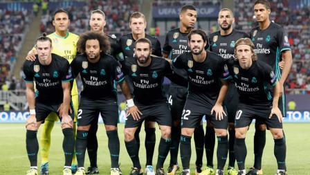 Skuad Real Madrid.