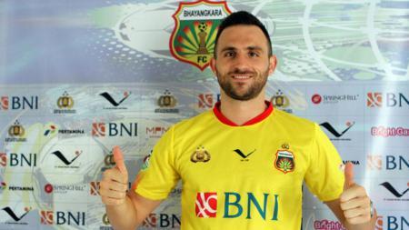 Ilija Spasojevic (Bhayangkara FC). - INDOSPORT