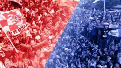 Indosport - The Jakmania dan Bobotoh.