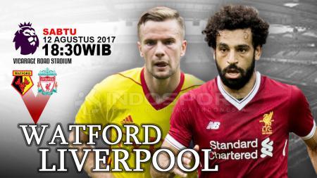 Prediksi Watford vs Liverpool. - INDOSPORT