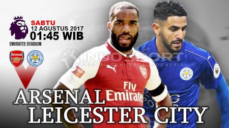 Prediksi Arsenal vs Leicester City. - INDOSPORT