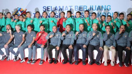 Ketua Umum PSSI dan Timnas U-22.