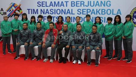 Ketum PSSI dan Timnas Futsal Putri