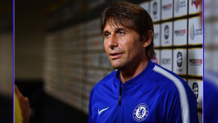 Antonio Conte, pelatih Chelsea. - INDOSPORT