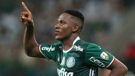 Yerry Mina. - INDOSPORT