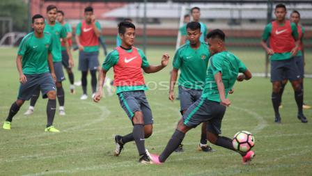 Latihan terakhir Timnas U-22