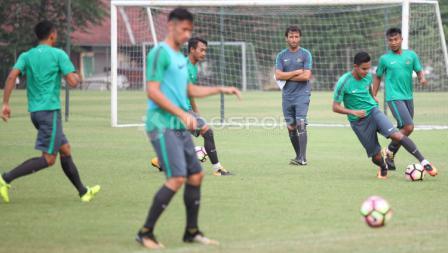 Latihan terakhir Timnas U-22.