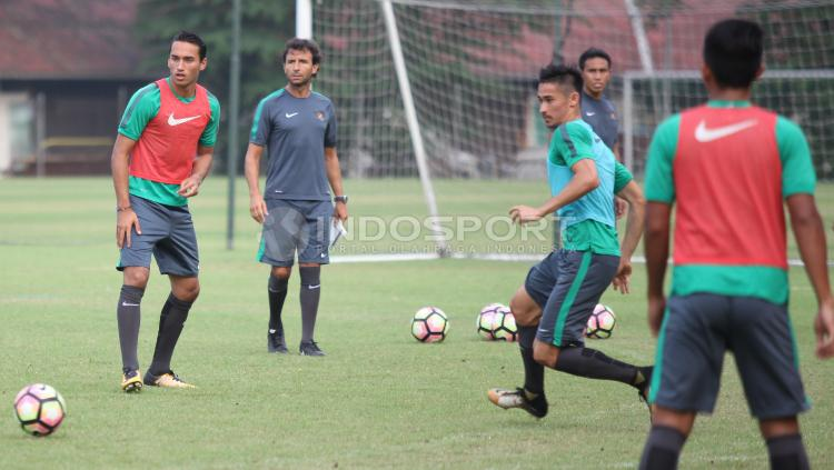 Latihan Terakhir Timnas U-22 Copyright: Herry Ibrahim/Indosport.com