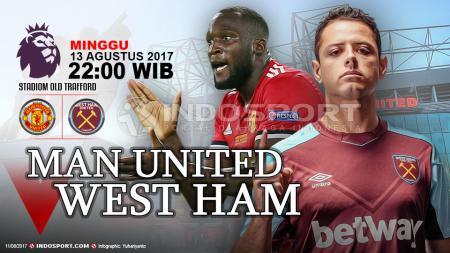 Prediksi Manchester United vs West Ham. - INDOSPORT