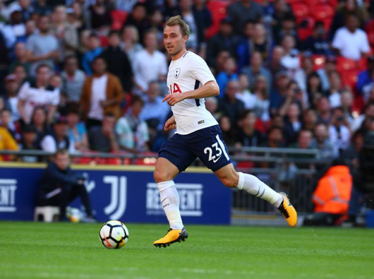 Christian Eriksen, gelandang serang Tottenham Hotspur. Copyright: INDOSPORT