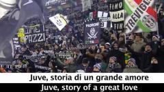 Indosport - Fans Juventus.