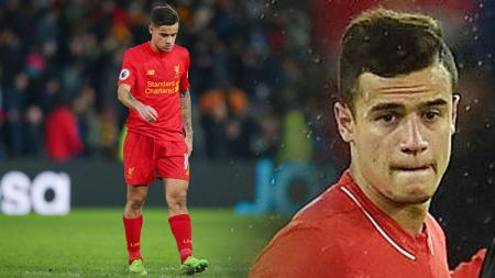Gelandang Liverpool, Philippe Coutinho. - INDOSPORT