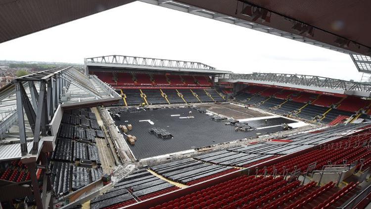 Stadion Anfield. Copyright: liverpoolfc.com
