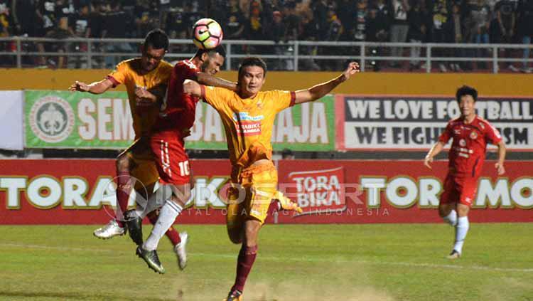 Siatuasi pertandingan Semen Padang vs Sriwijaya FC. Copyright: Taufik Hidayat/INDOSPORT
