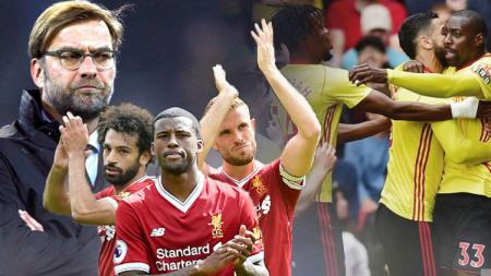 Watford vs Liverpool. - INDOSPORT
