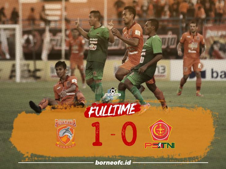 Borneo FC vs PS TNI Copyright: Twitter/Borneo FC