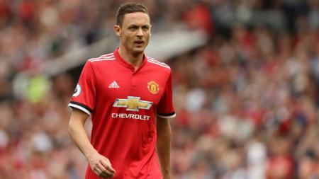 Pemain klub Liga Inggris Manchester United, Nemanja Matic, dikabarkan akan menyusul Jose Mourinho ke Tottenham Hotspur. - INDOSPORT