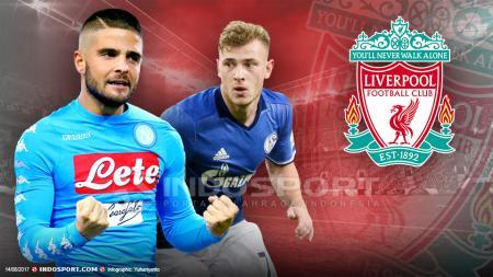 Max Meyer dan Lorenzo Insigne diincar oleh Liverpool. - INDOSPORT