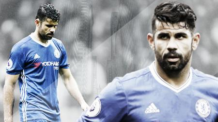Striker Chelsea, Diego Costa. - INDOSPORT