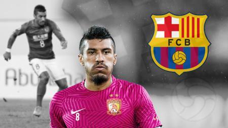 Paulinho selangkah lagi menuju Barcelona. - INDOSPORT