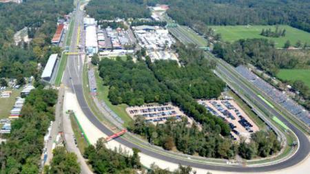 Sirkuit Monza. - INDOSPORT