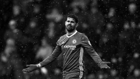 Diego Costa, penyerang Chelsea. - INDOSPORT