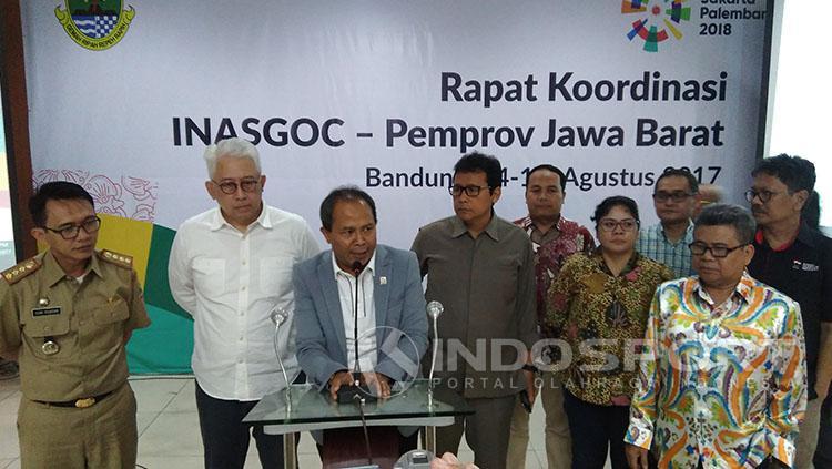 INASGOC Gelar Rakor di Jabar Copyright: Muhammad Ginanjar/Indosport.com