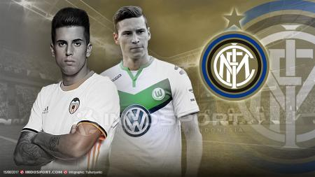 Joao Cancelo dan Julian Draxler bisa bergabung dengan Inter Milan. - INDOSPORT