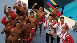 Timnas Polo Air Indonesia di SEA Games 2017.