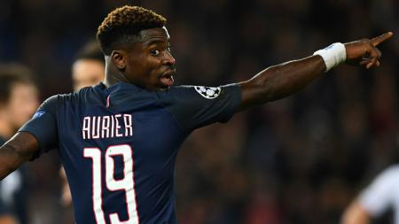 Serge Aurier, bek kanan Paris Saint-Germain. - INDOSPORT