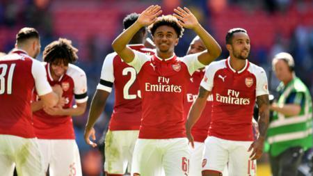 Reiss Nelson, wonderkid Arsenal. - INDOSPORT