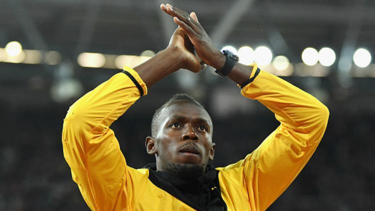 Usain Bolt. Copyright: Indosport