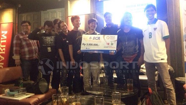 Penerimaan pemenang lomba BCA Indonesia Open. Copyright: Zainal Hasan/INDOSPORT