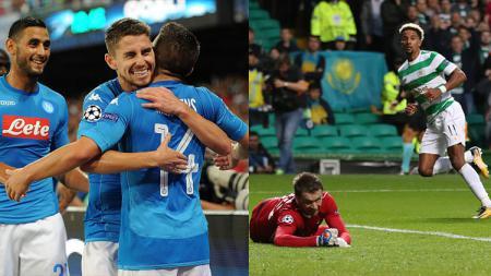 Napoli dan Celtic sukses raih kemenangan. - INDOSPORT