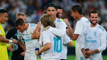 Klub LaLiga Spanyol, Real Madrid, merindukan sosok Cristiano Ronaldo. Apakah ini menandakan CR7 bakal kembali? - INDOSPORT