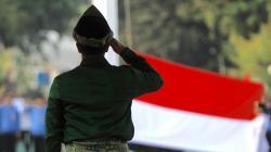 Menpora, Imam Nahrawi, memimpin upacara kemendekaan Indonesia ke-72.