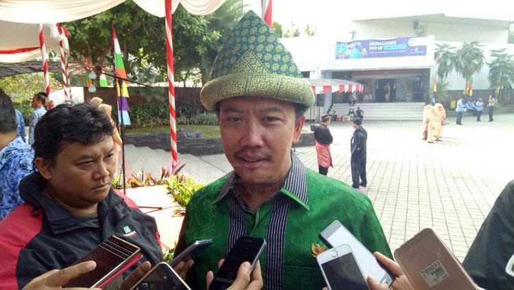 Menpora, Imam Nahrawi, memimpin upacara kemerdekaan Indonesia ke-72. Copyright: Zainal Hasan/INDOSPORT